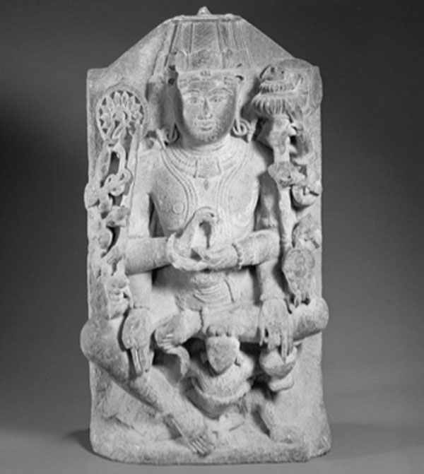 12th century sculpture showing one of the yoga positions from the Bhagavad Gita. (Fæ / Public Domain)