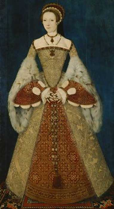 A c. 1545 portrait of Catherine Parr.