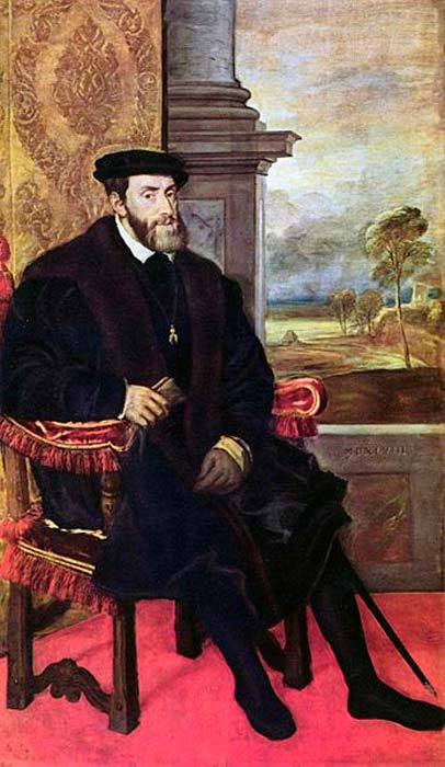 1548 portrait of Charles V.