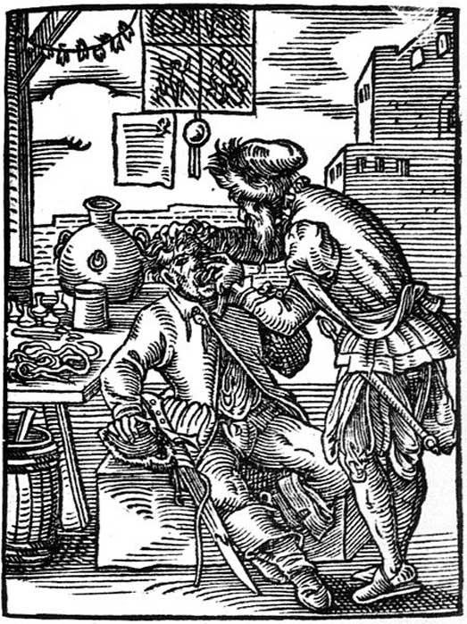 16th century barber-dentist.