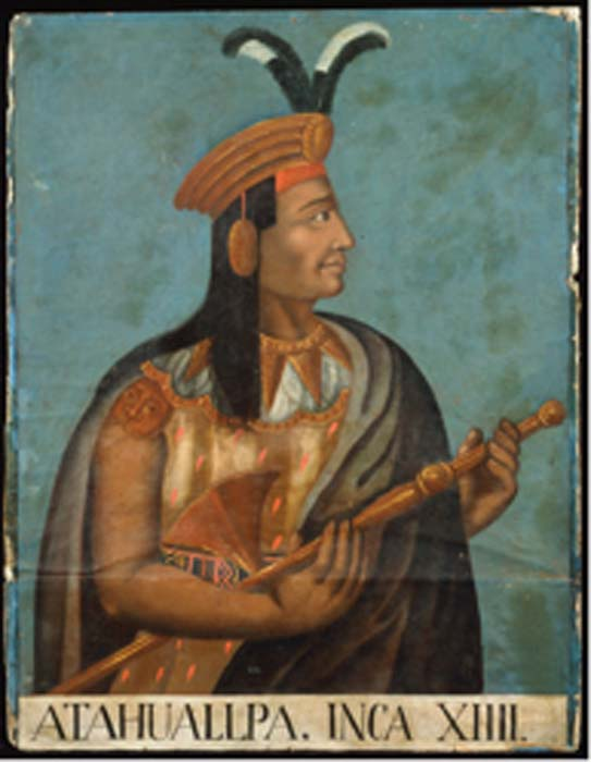 16th century portrait of Atahualpa. (Libertybison / Public Domain)