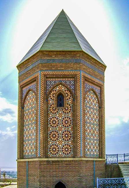 17th century Noah Mausoleum, Nakhchivan, Azerbaijan.