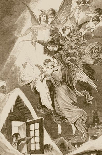 1893 depiction of Christkind.