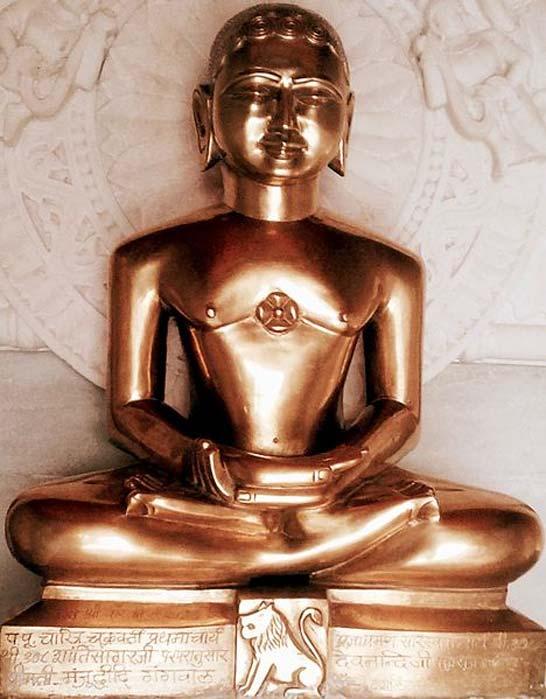 24th Tirthankara Mahavira Bhagwan Vardhamana Nigantha Jainism. (Ms Sarah Welch/CC BY SA 4.0)