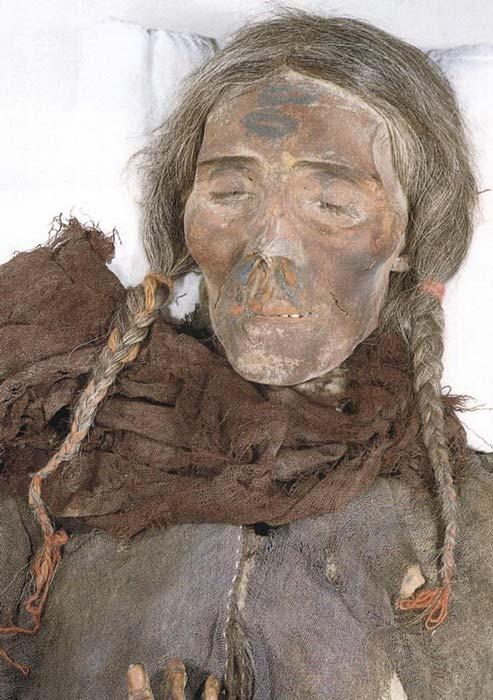 A Tarim mummy.