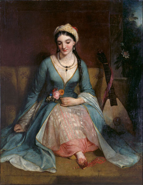 'A Young Greek Woman' (1829) Henry William Pickersgill. (Public Domain)