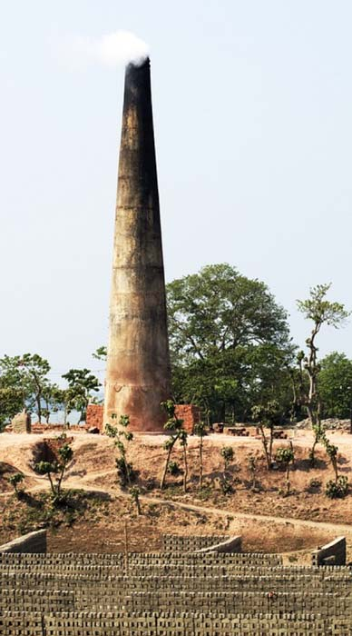 A brick kiln furnace. (CC0)
