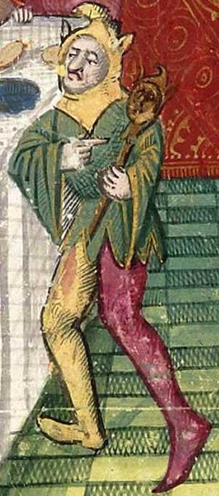 A court jester. (Public Domain)