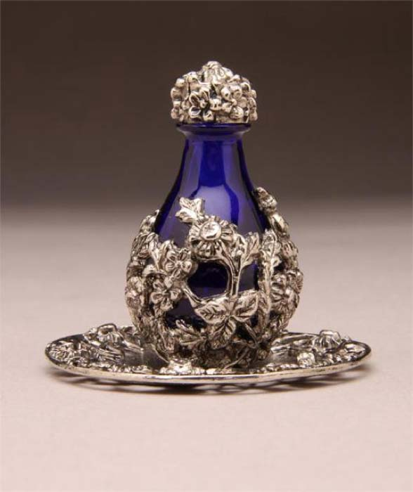 A highly decorative example of a supposed tear catcher. (The Victorianachronists)