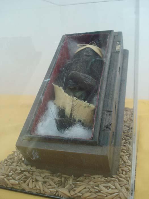 A jenglot on display. (Maurina Rara/CC BY 2.0)