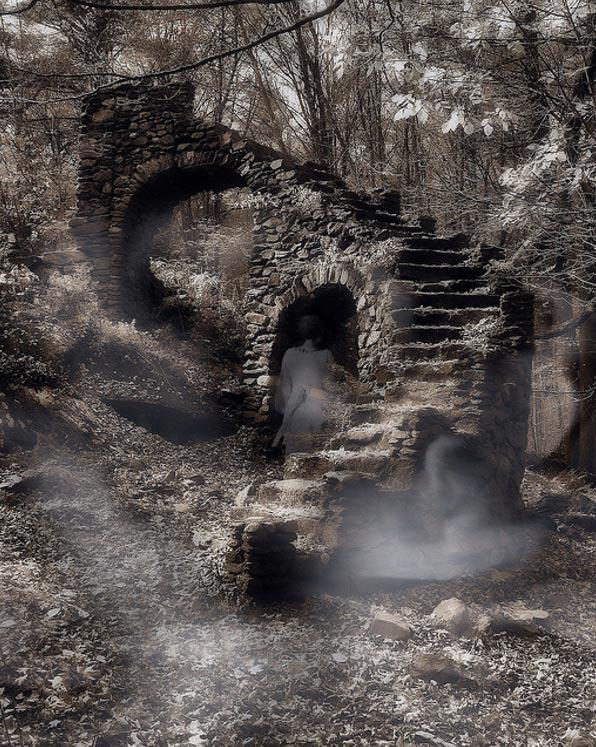 A misty phantom.
