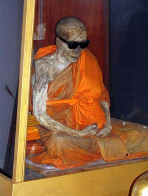 A monk who achieved self-mummification