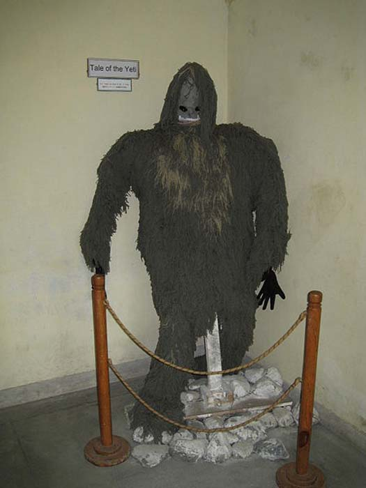 A representation of a Yeti at the International Mountain Museum, Pokhara, Nepal. (MMuzammils/CC BY SA 3.0)