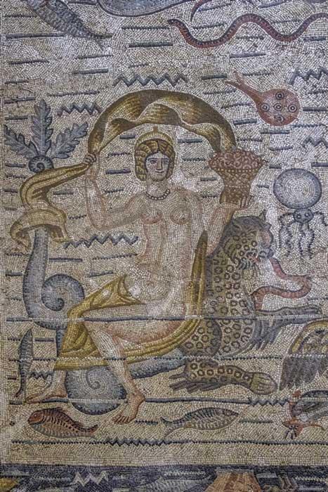 A stunning mosaic found at Cuicul, Djemila (tynrud / Fotolia)