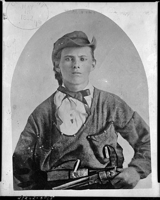 A young Jesse James (Public Domain)