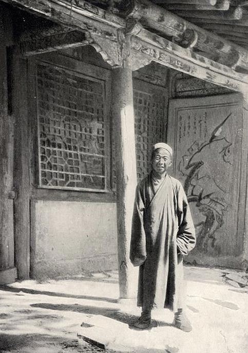 Abbot Wang Yuanlu, discoverer of the hidden Library Cave.