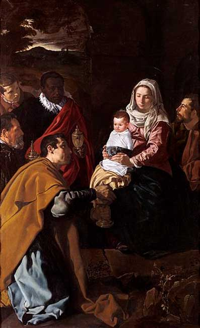 Adoración de los Magos (The Adoration of the Magi) (1619) by Diego Velázquez.