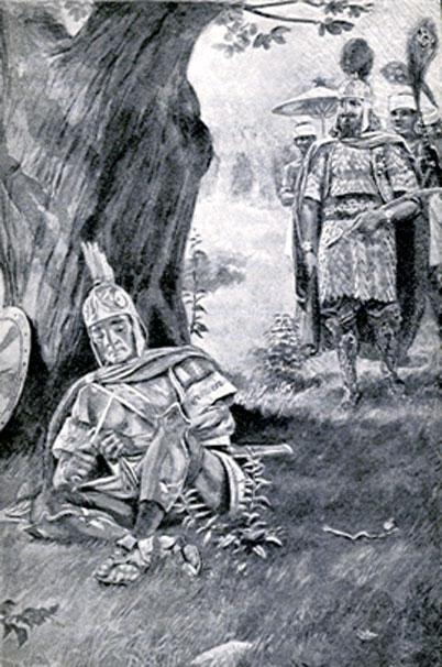 Agesilao y Farnabazus. (Dominio público)
