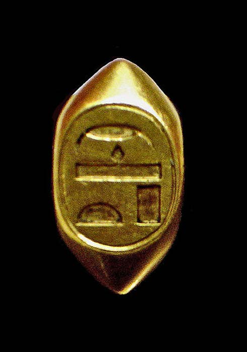 One of Ahhotep's rings.