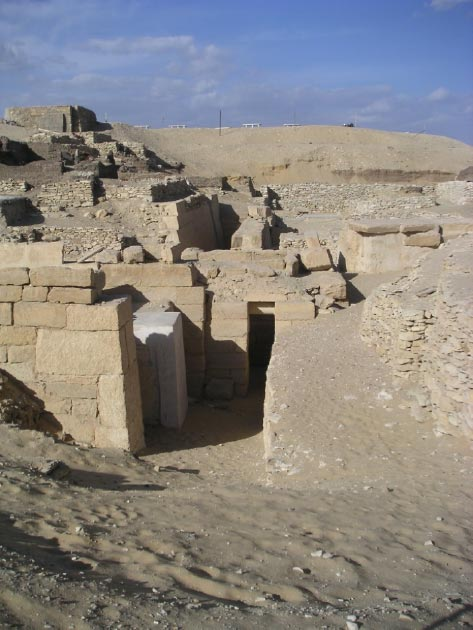 Tomb of Akhethetep in Saqqarah (Public Domain)