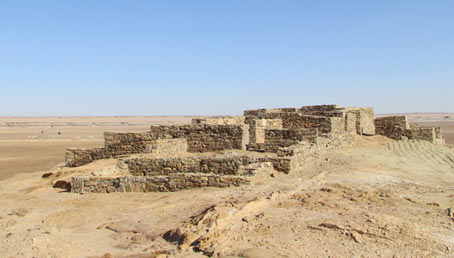 Al-Hamra, Nabonidus Temple