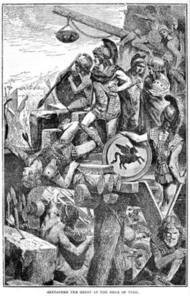 Alexander the Great at the Siege  Los fenicios: marinos mercantes misteriosos cuyas invenciones impactaron al mundo para siempre