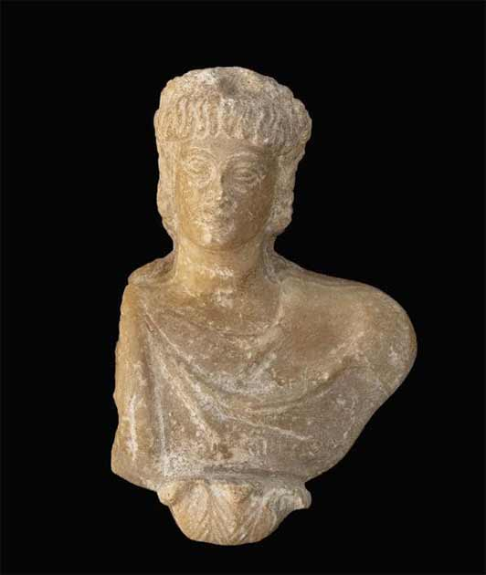 The new Alexander the Great statue, made of alabaster, unearthed at a large dig in Alexandria, Egypt. (Egyptian Ministry of Tourism and Antiquities)