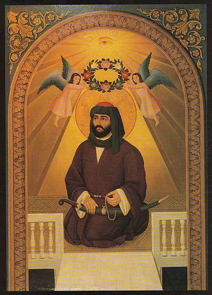 Alī bin Abī Ṭālib by Hakob Hovnatanyan (c. 19th century). (Public Domain)