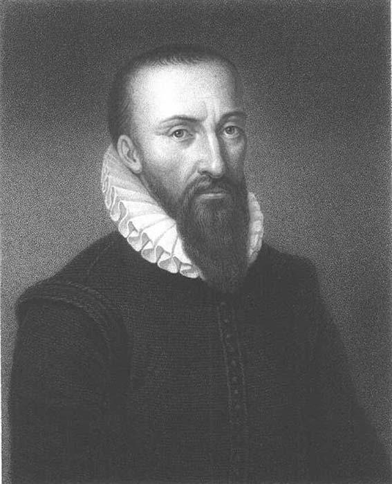 Ambroise Paré (ca. 1510-1590), famous French surgeon; Posthumous fantasy portrait. (Public Domain)