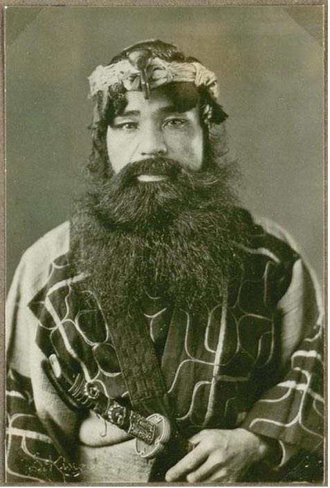 An Ainu man from Japan