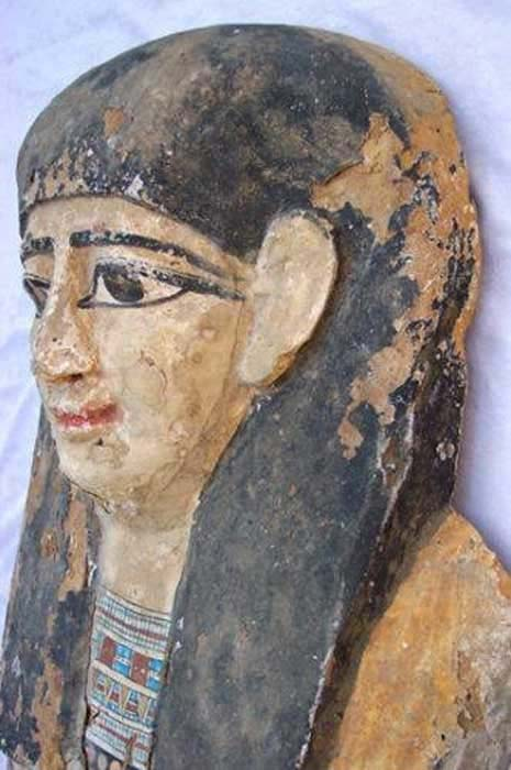 An illegally excavated object someone tried to sell on eBay. ( Egypt's Heritage Task Force )