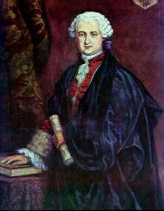 An image said to represent the Comte de St. Germain.