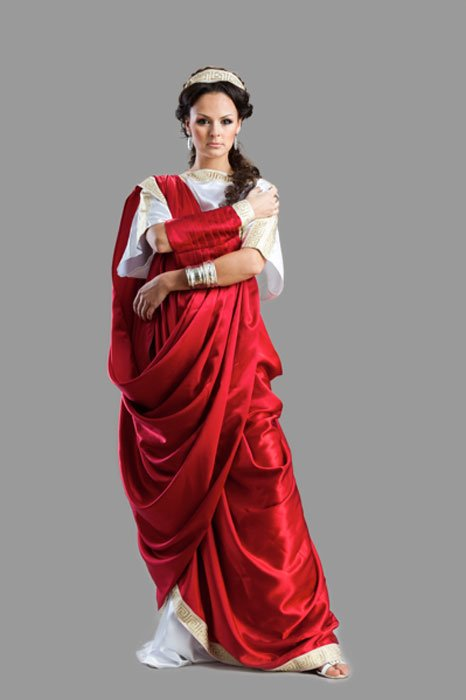 Ancient Rome Women's Garment. (Zadiraka / Adobe)