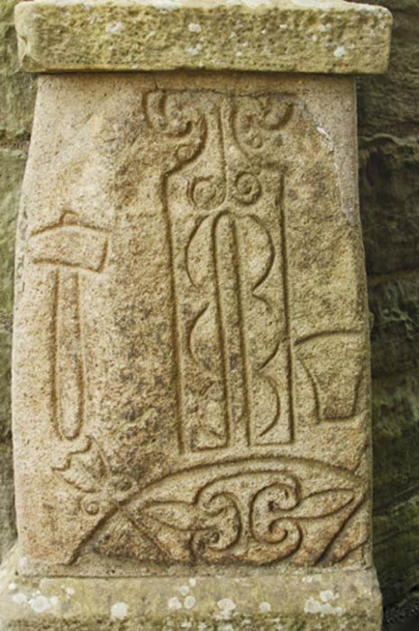 Ancient carved Pictish stone. (victor Lord Denovan /Adobe Stock)