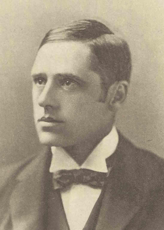 "Andrew Barton ""Banjo"" Paterson in an 1890 AD photo. (National Library of Australia / Public domain)"