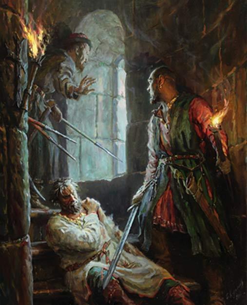 Andrey Bogolyubsky (Murder) by Sergei Kirillov