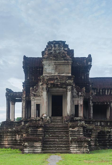 A temple at Angkor Wat