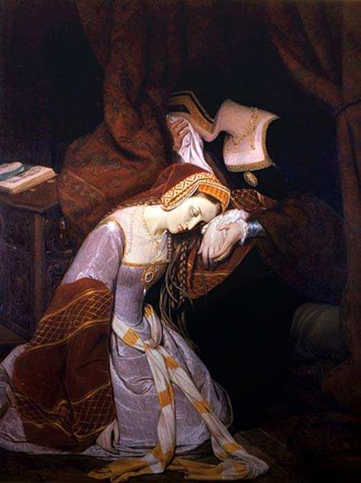 Anne Boleyn in the Tower. (Musée Rolin / Public Domain)