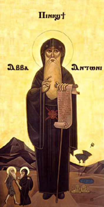 Anthony the Great, father of Christian Monasticism and early anchorite. (Afanous / Public Domain)