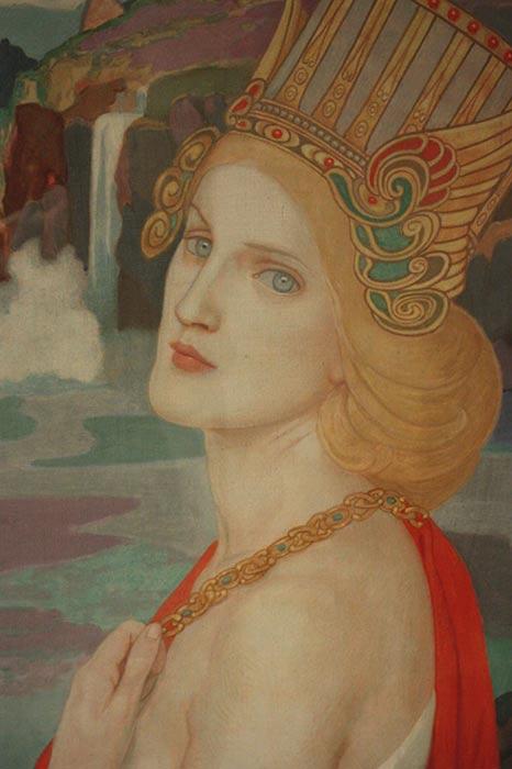 Illustration of Aoife by John Duncan