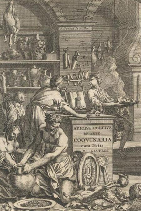Apicius: De re coquinaria (On the Subject of Cooking), 1709 cover.