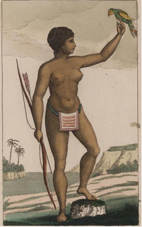 Arawak women by John Gabriel Stedman