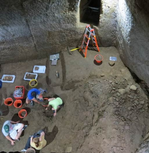 Archaeology team excavates the Etruscan 'Pyramids'