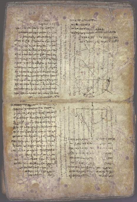 The Archimedes Palimpsest revealed works by Archimedes thought to have been lost