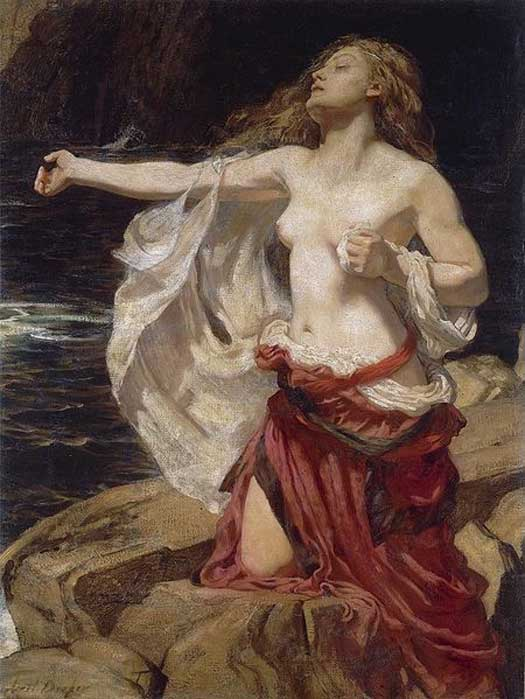 'Ariadne' (c. 1905) by Herbert James Draper.
