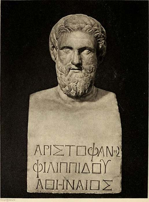Aristophanes. (The Commons)