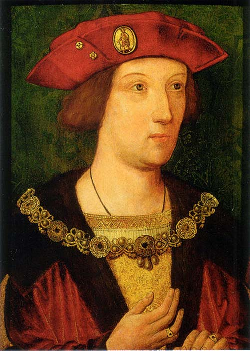 Arthur, Prince of Wales, may have died of the sweating sickness in 1502. (Public Domain)