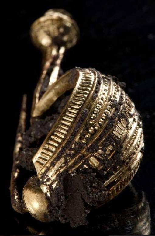 Artifact from the grave of the Celtic princess near Heuneburg.