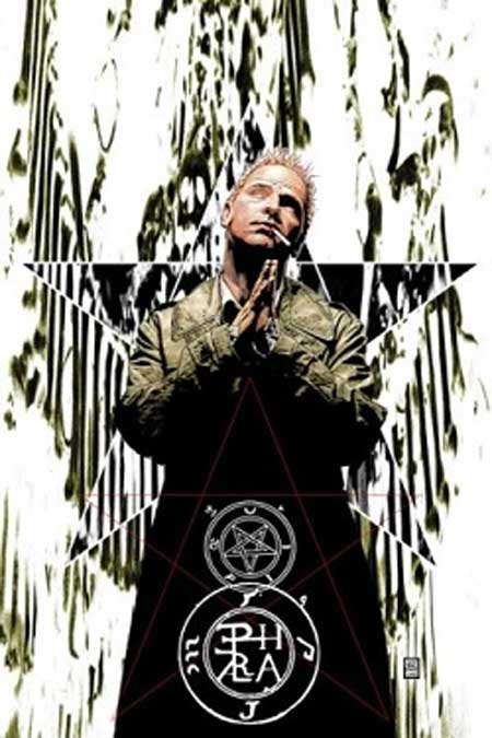 Artwork for the cover of Hellblazer 189 (Dec. 2003). Tim Bradstreet. (Fair Use)