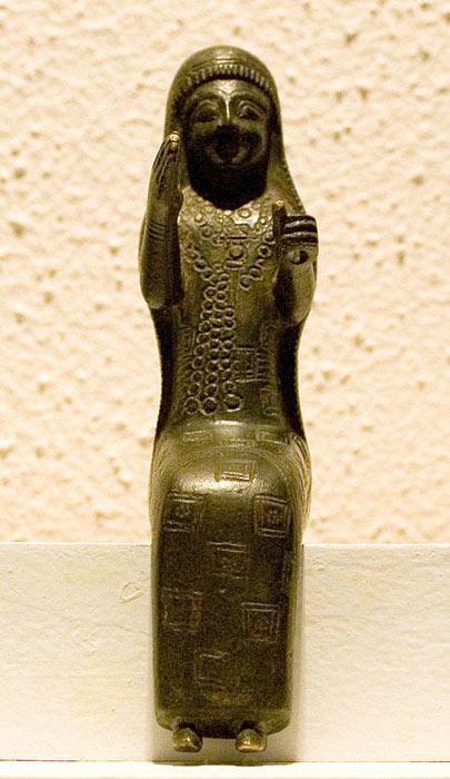 Бронзова фігура урартської богині Арубані датується 860-590 роками до нашої ери.  (Євген Генкін / CC BY 3.0)